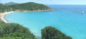 Tropical beach cove